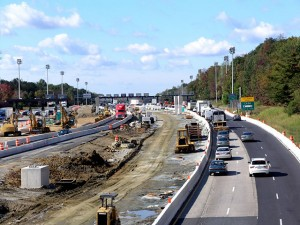 I-95 Newark Toll Plaza Construction
