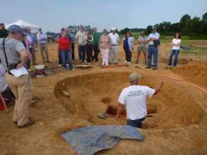 Historic Preservation specialists from the Delaware Division of Historic and Cultural Affairs