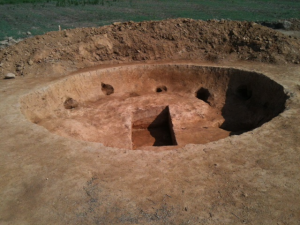 Circular Pit Feature