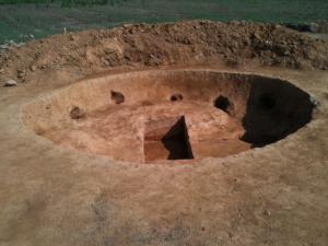 Circular Pit Feature