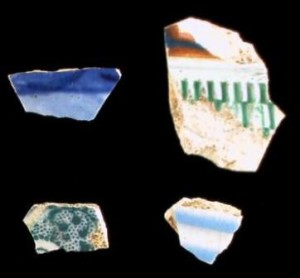 Sherds from the Samuel Dale Site