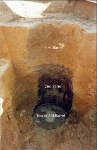 Figure 1: barrel well, Jones Site